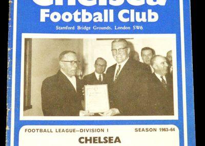 Chelsea v Nottingham Forest 30.03.1964