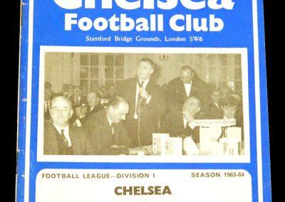 Chelsea v Leicester City 04.04.1964