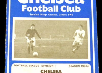 Chelsea v Everton 18.04.1964