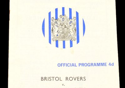 Bournemouth v Bristol Rovers 04.01.1964 | FA Cup 3rd round