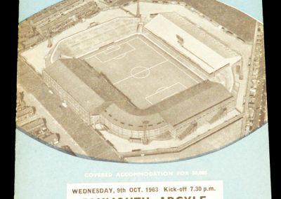 Plymouth Argyle v Manchester City 09.10.1963