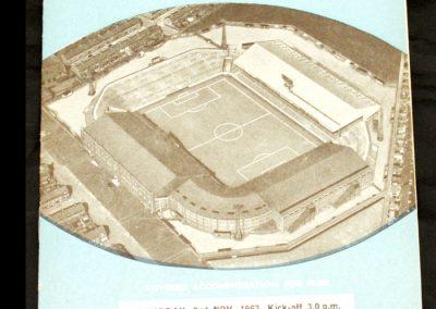 Swansea Town v Manchester City 02.11.1963
