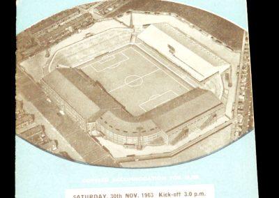 Huddersfield Town v Manchester City 30.11.1963
