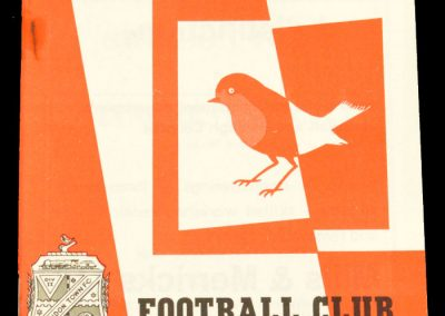 Swindon Town v Manchester City 04.01.1964 | FA Cup 3rd Round