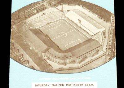 Manchester City v Grimsby Town 22.02.1964