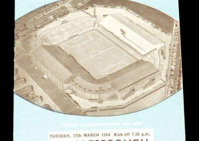 Manchester City v Middlesbrough 17.03.1964