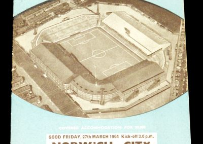 Manchester City v Norwich City 27.03.1964