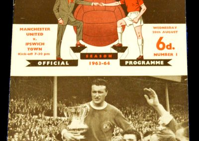 Manchester United v Ipswich Town 28.08.1963