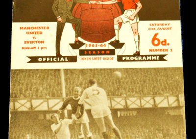 Manchester United v Everton 31.08.1963