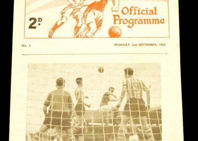 Reserves v Chesterfield 02.09.1963