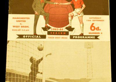 Manchester United v West Brom 14.09.1963