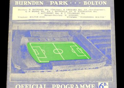 Bolton Wanderers v Manchester United 05.10.1963