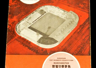Manchester United v Willem 2 15.10.1963 | 2nd Round
