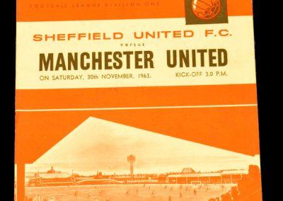 Sheffield United v Manchester United 30.11.1963