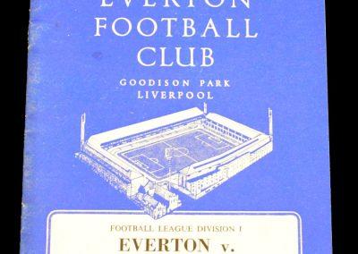 Everton v Manchester United 21.12.1963