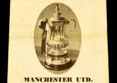 Southampton FC v Manchester United 04.01.1964