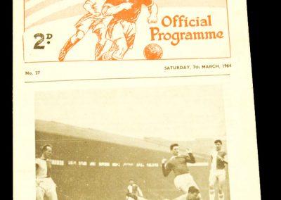 Reserves v Sheffield United 07.03.1964