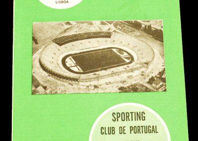 Sporting Lisbon v Manchester United 18.03.1964