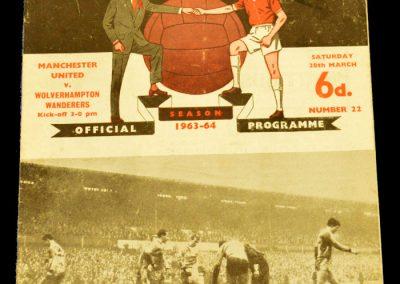Manchester United v Wolverhampton Wanderers 28.03.1964