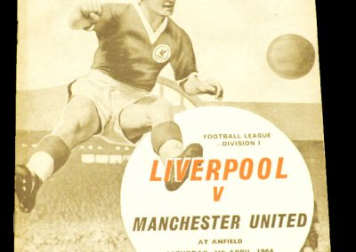 Liverpool v Manchester United 04.04.1964