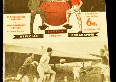Manchester United v Nottingham Forest 25.04.1964