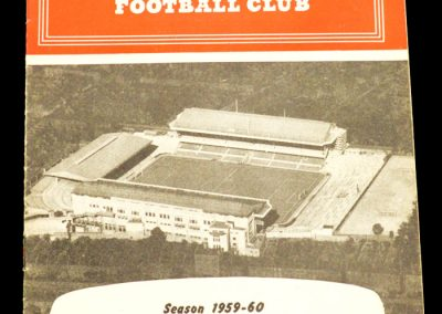 Arsenal v Nottingham Forest 01.09.1959