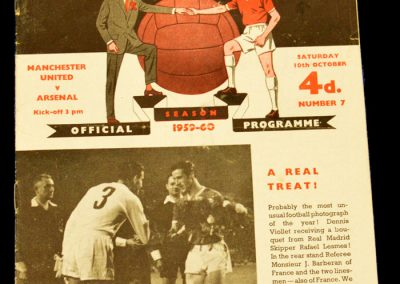 Manchester United v Arsenal 10.10.1959