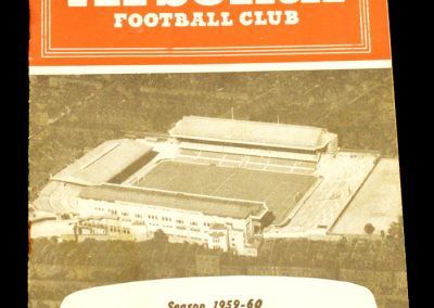Arsenal v Preston North End 17.10.1959