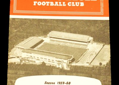 Arsenal v West Ham United 14.11.1959