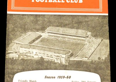 Arsenal v West Ham United 29.01.1960