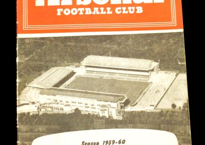 Arsenal v Everton 20.02.1960