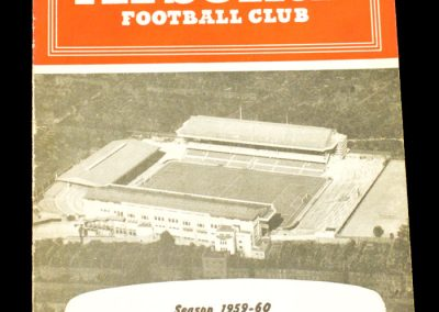 Arsenal v Newcastle United 27.02.1960
