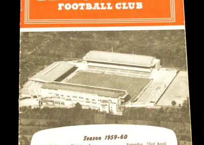 Manchester United v Arsenal 23.04.1960