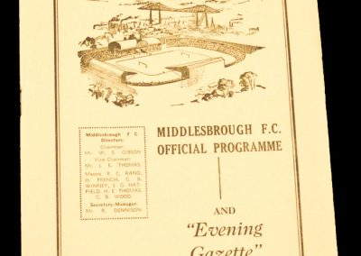 Derby County v Middlesbrough FC 02.01.1960