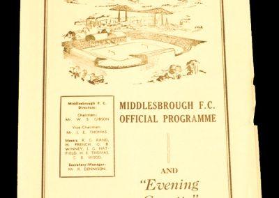Barrow v Middlesbrough FC 12.03.1960