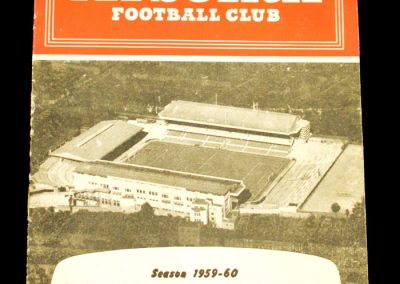 English v Scottish League 23.03.1960