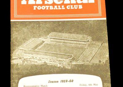 England v Young England 06.05.1960