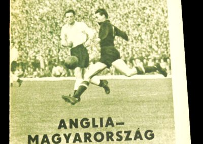 Hungary v England 22.05.1960   International Friendly