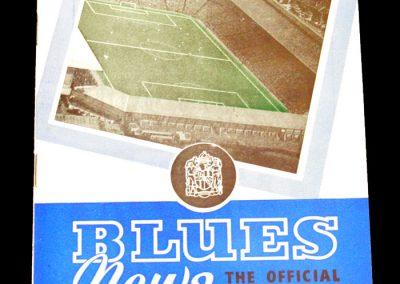 Birmingham City v Newcastle United 26.08.1959