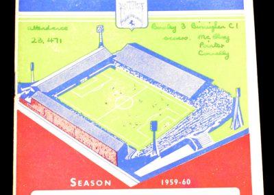 Burnley v Birmingham City 26.09.1959