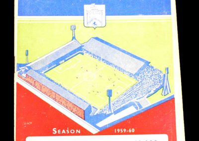 Burnley v Blackpool 10.10.1959