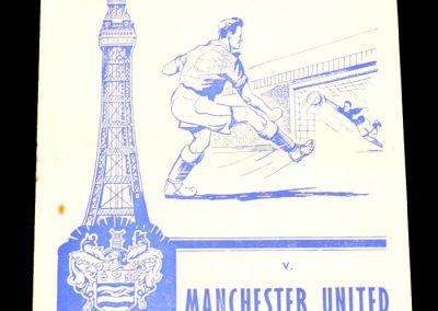 Blackpool v Manchester United 27.02.1960