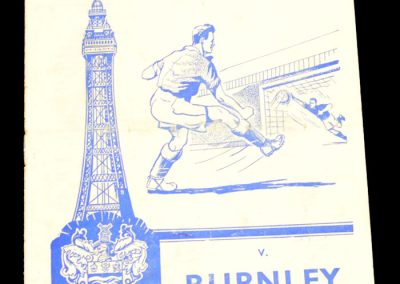 Blackpool v Burnley 23.04.1960