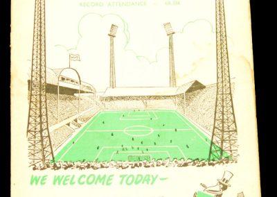 Newcastle United v Manchester City 30.04.1960