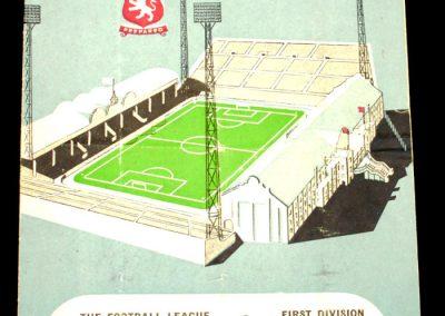 Aston Villa v West Bromwich 11.10.1958