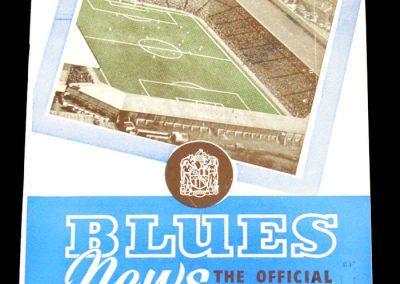 Birmingham City v Nottingham Forest 18.10.1958