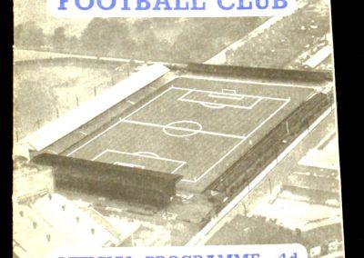 Ipswich Town v Brighton 15.11.1958