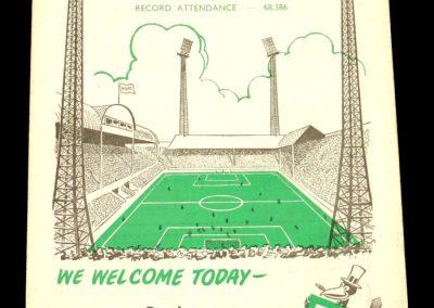 Newcastle v Burnley 06.12.1958