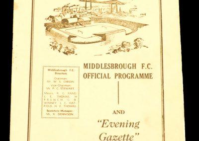 Middlebrough v Barnsley 26.12.1958