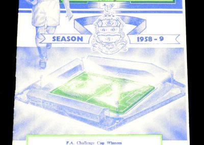 Blackburn v Burnley 24.01.1959 | FA Cup 4th Round | Abandoned